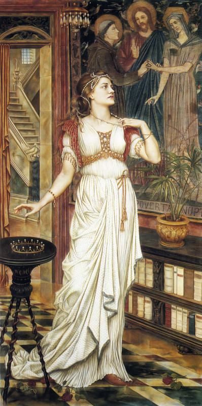 Evelyn De Morgan The Crown of Glory