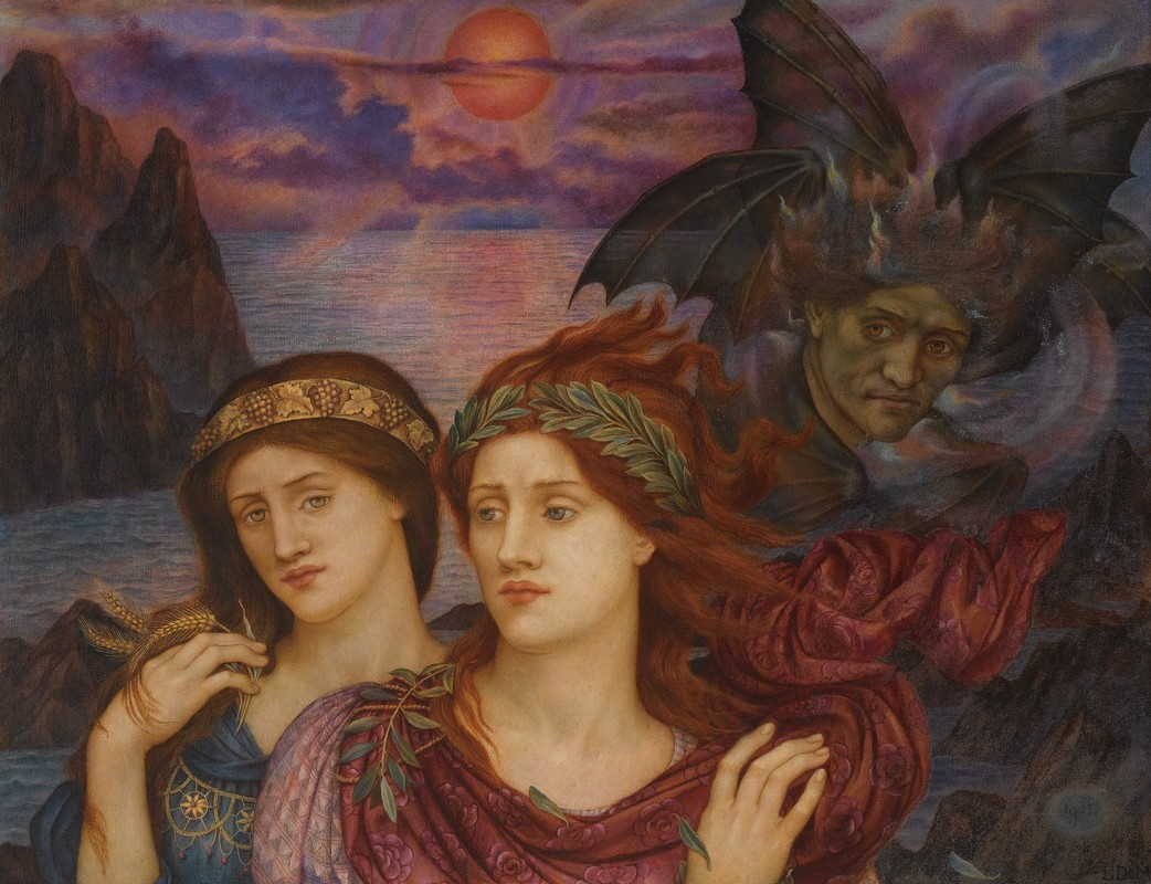 Evelyn De Morgan painting
