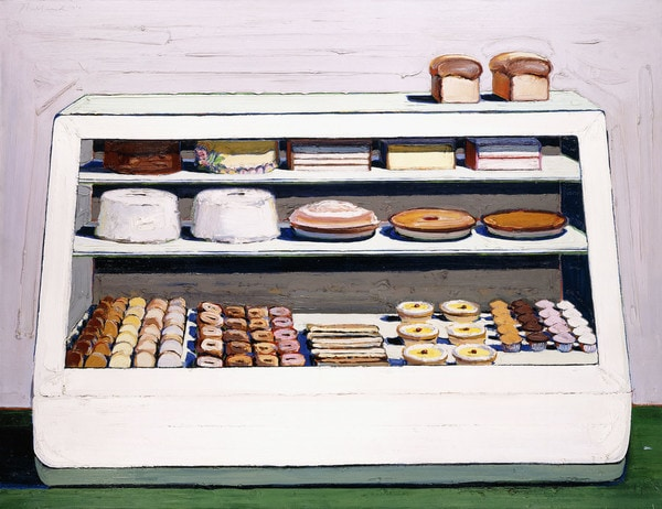 Thiebaud, Bakery Counter