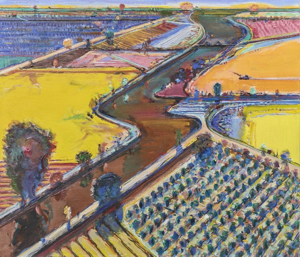 Thiebaud, Brown River