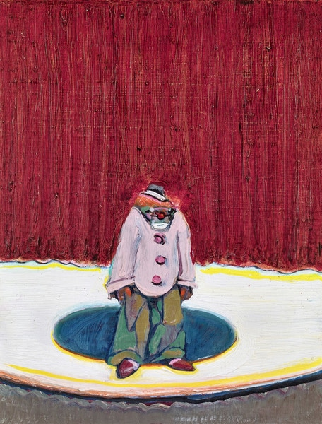 Thiebaud, Clown with Red Hair
