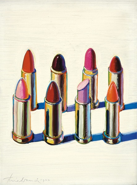 Thiebaud, Lipsticks