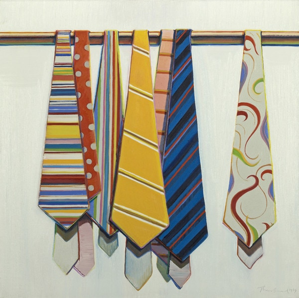 Thiebaud, Row of Ties