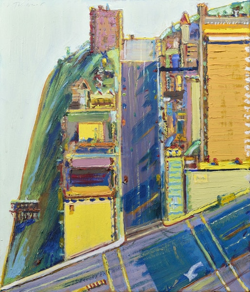 Thiebaud, Sunset Street Study