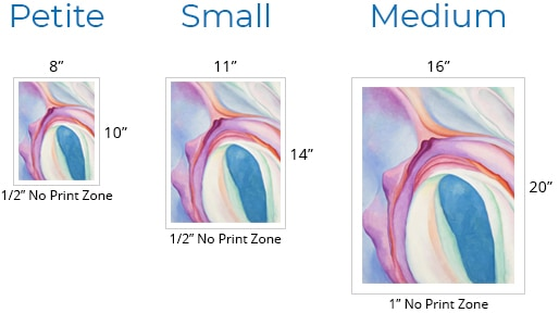 Product Sizes Unframed Small V2